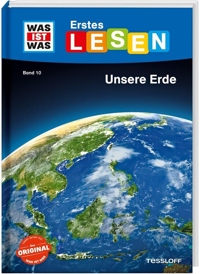 WAS IST WAS Erstes Lesen Band 10. Unsere Erde als Buch (gebunden)