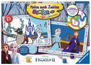 Disney Frozen 2: Freunde fürs Leben Malen nach Zahlen Junior