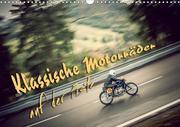Klassische Motorräder auf der Piste (Wandkalender 2020 DIN A3 quer)