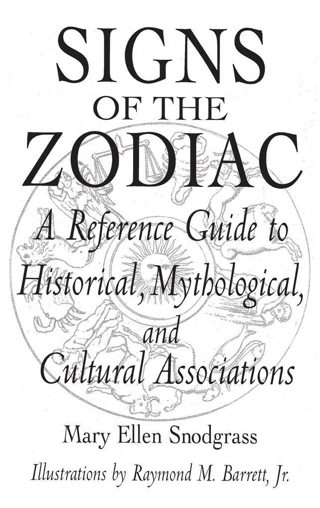 Signs of the Zodiac als Buch (gebunden)