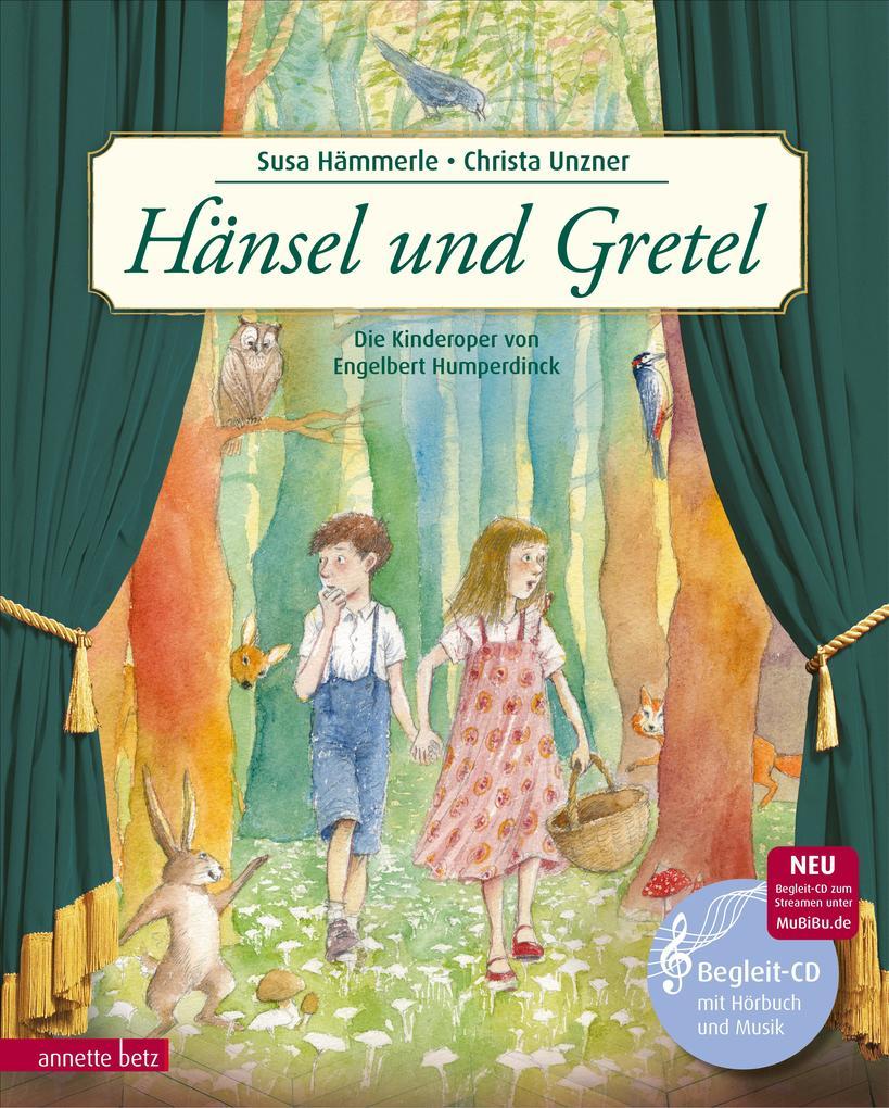 Hänsel und Gretel als Buch (gebunden)