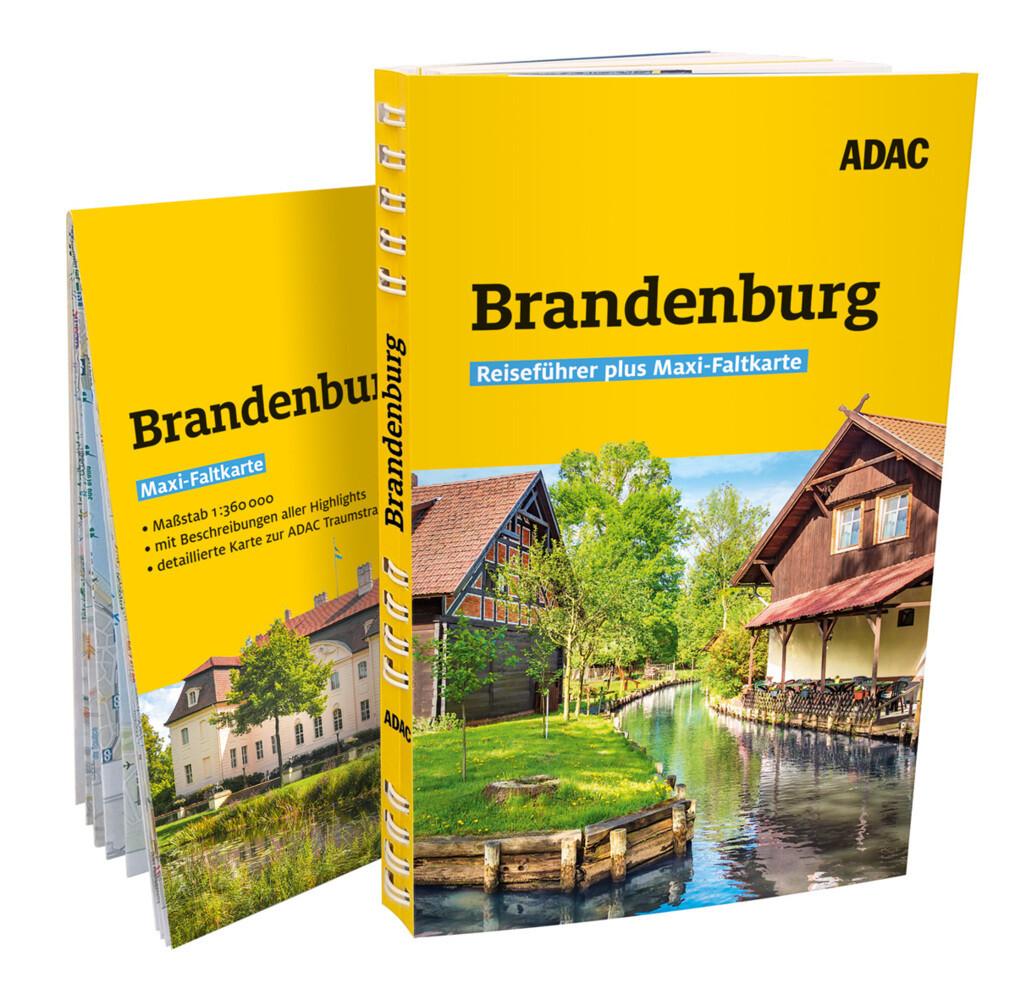 ADAC Reiseführer plus Brandenburg als Buch (kartoniert)