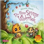 Maxi Pixi 312: VE 5 Die kleine Spinne Widerlich: Der Geburtstagsbesuch (5 Exemplare)