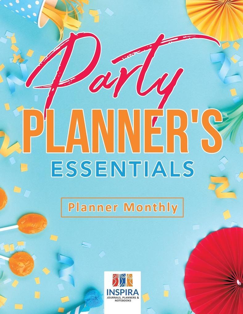Party Planner's Essentials | Planner Monthly als Taschenbuch