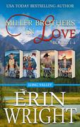 Miller Brothers in Love: A Long Valley Western Romance Boxset (Books 1 - 4)