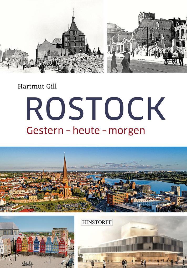 Rostock - Eine Reise durch die Zeit als Buch (gebunden)