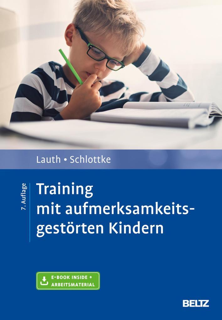 Training mit aufmerksamkeitsgestörten Kindern als eBook pdf