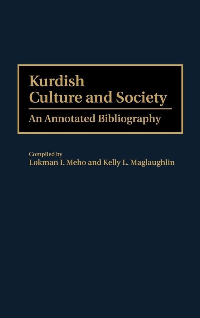 Kurdish Culture and Society als Buch (gebunden)