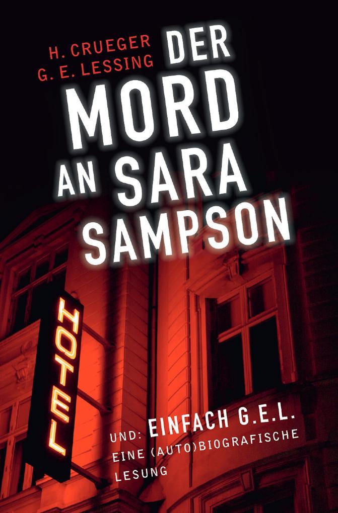 Der Mord an Sara Sampson als eBook epub
