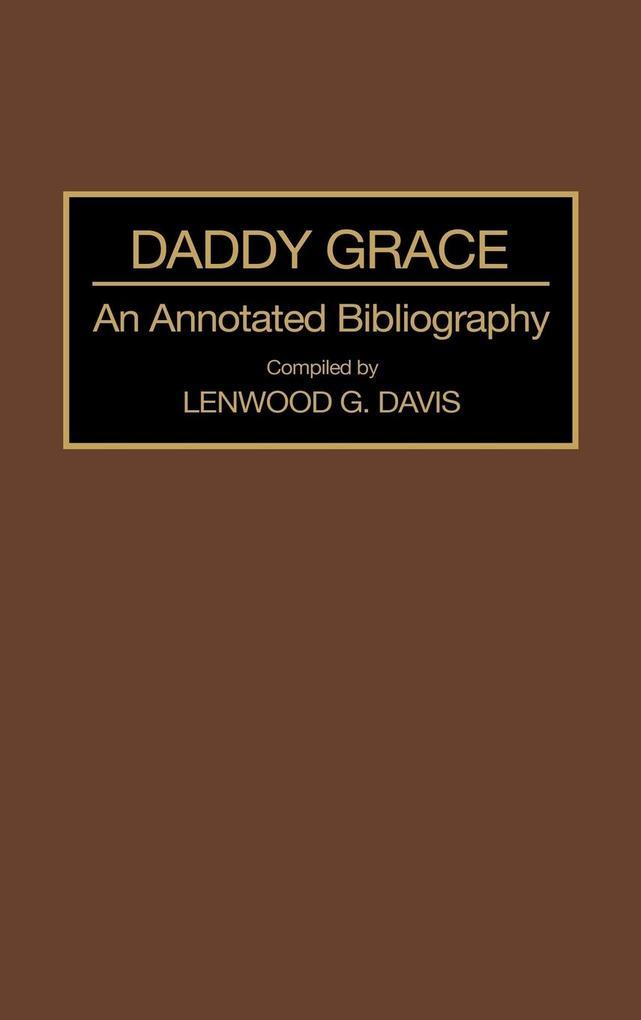 Daddy Grace als Buch (gebunden)