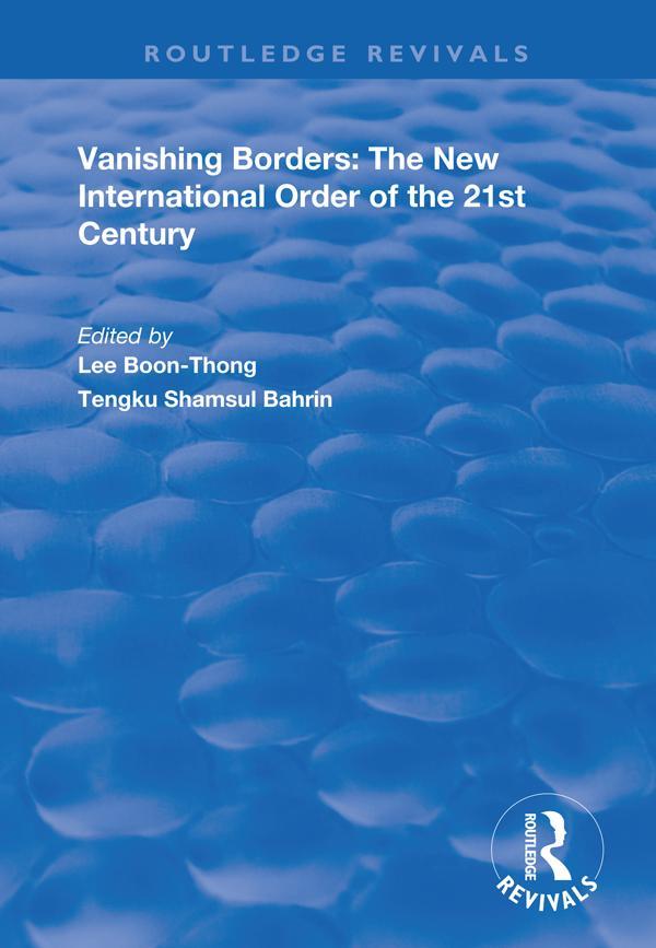 Vanishing Borders als eBook pdf