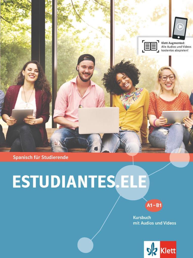 Estudiantes.ELE A1-B1. Kursbuch mit Audios und Videos als Buch (kartoniert)