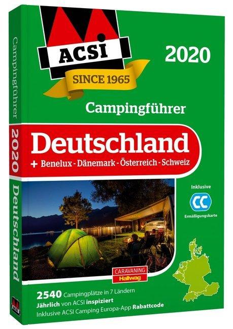 ACSI Campingführer Deutschland 2020 als Buch (kartoniert)
