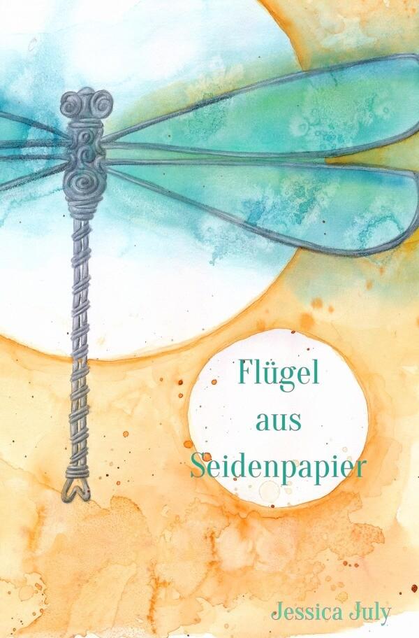 Flügel aus Seidenpapier als Buch (kartoniert)