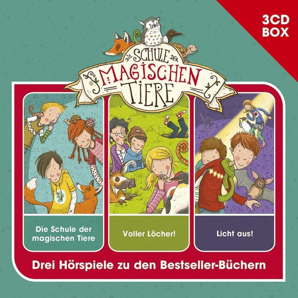 Schule der magischen Tiere - Hörspielbox Vol. 1 als CD