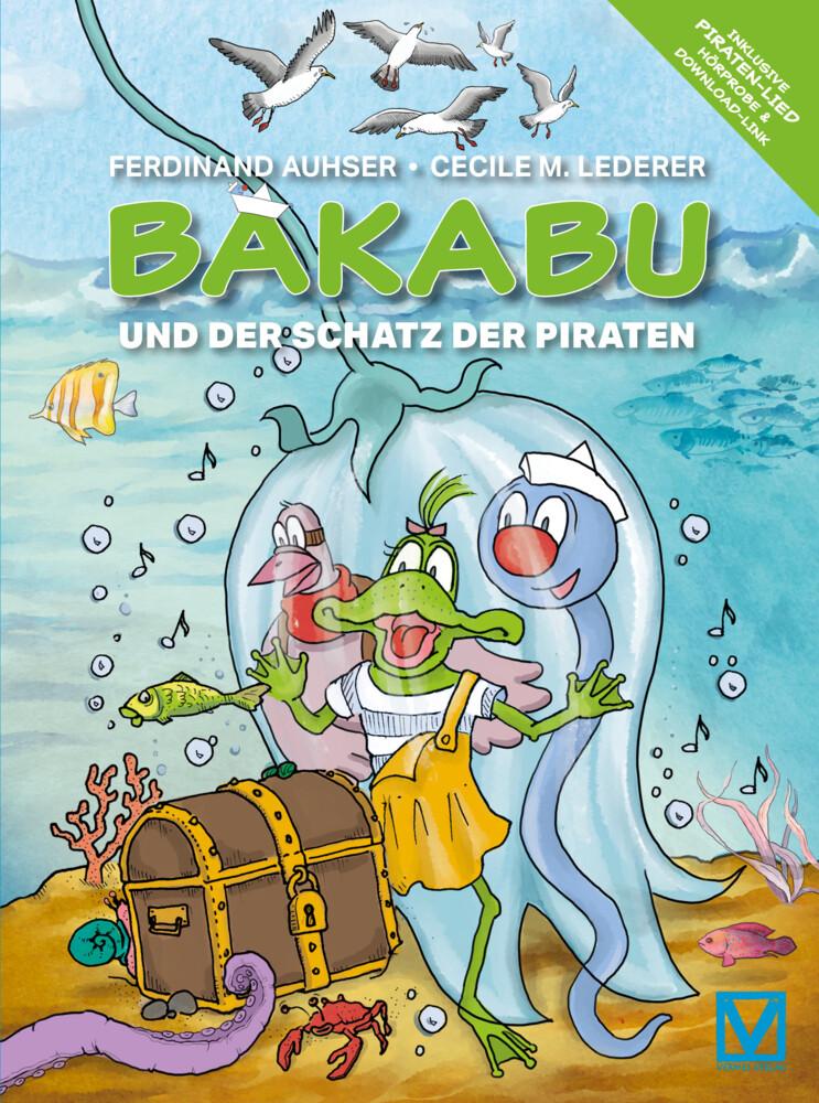 Bakabu und der Schatz der Piraten als Buch (gebunden)