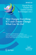 This Changes Everything - ICT and Climate Change: What Can We Do?
