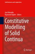Constitutive Modelling of Solid Continua