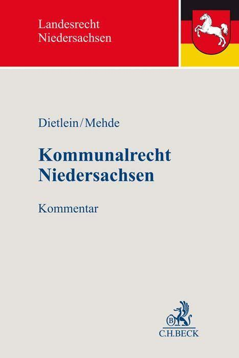 Kommunalrecht Niedersachsen als Buch (gebunden)