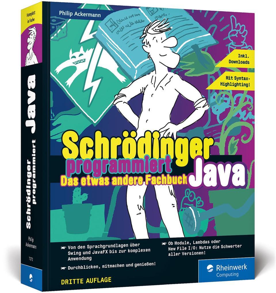 Schrödinger programmiert Java als Buch (kartoniert)