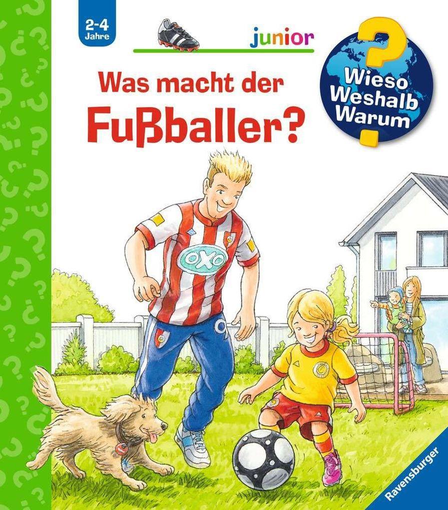 Was macht der Fußballer? als Buch (kartoniert)