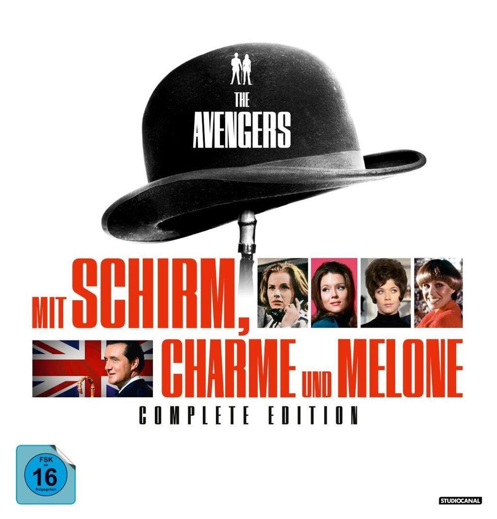 Mit Schirm, Charme und Melone. Complete Edition als DVD