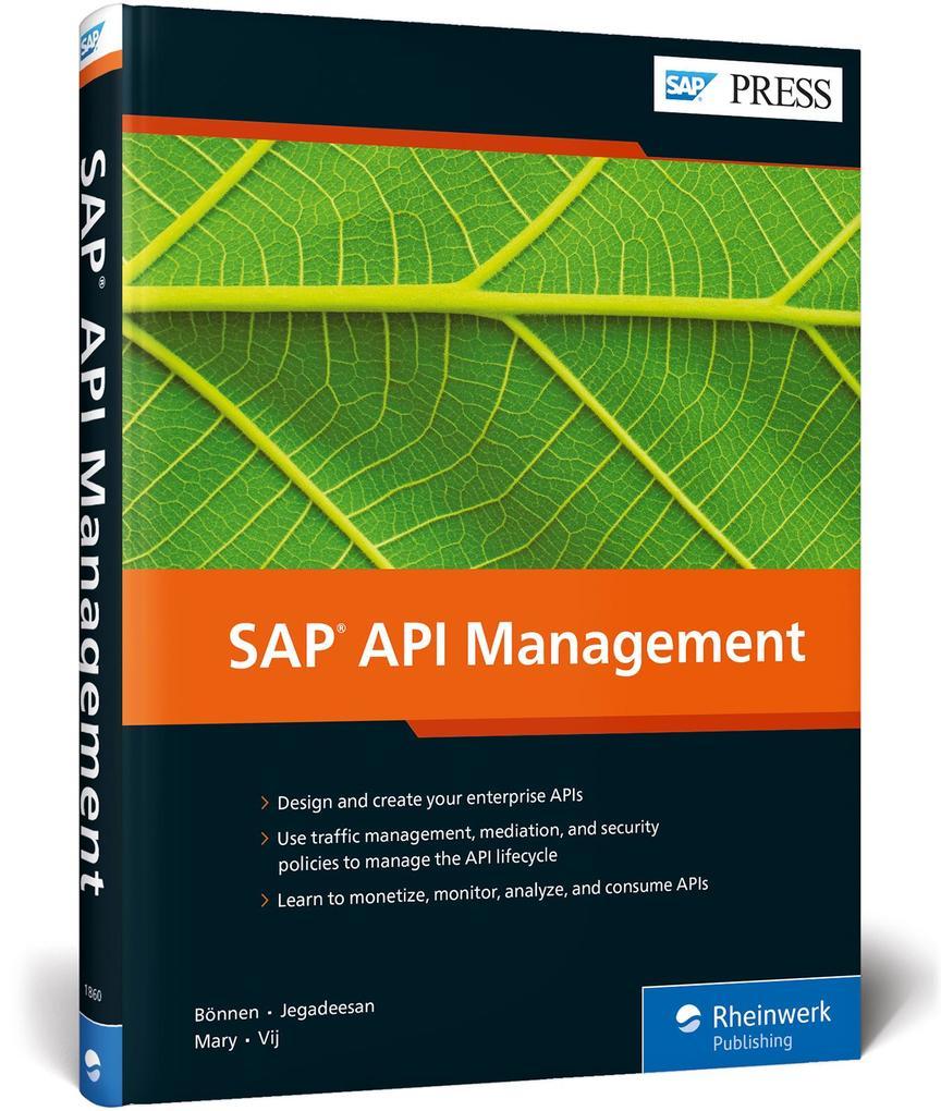 SAP API Management als Buch
