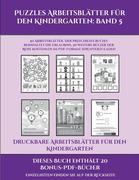 Druckbare Arbeitsblätter für den Kindergarten (Puzzles Arbeitsblätter für den Kindergarten: Band 5): 50 Arbeitsblätter. Der Preis dieses Buches beinha