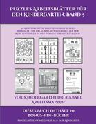 Vor-Kindergarten Druckbare Arbeitsmappen (Puzzles Arbeitsblätter für den Kindergarten: Band 5): 50 Arbeitsblätter. Der Preis dieses Buches beinhaltet