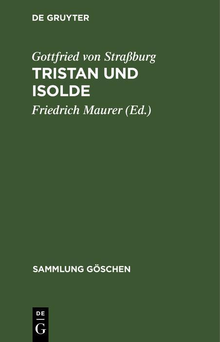 Tristan und Isolde als eBook pdf