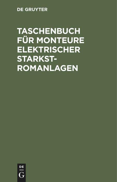 Taschenbuch für Monteure elektrischer Starkstromanlagen.pdf