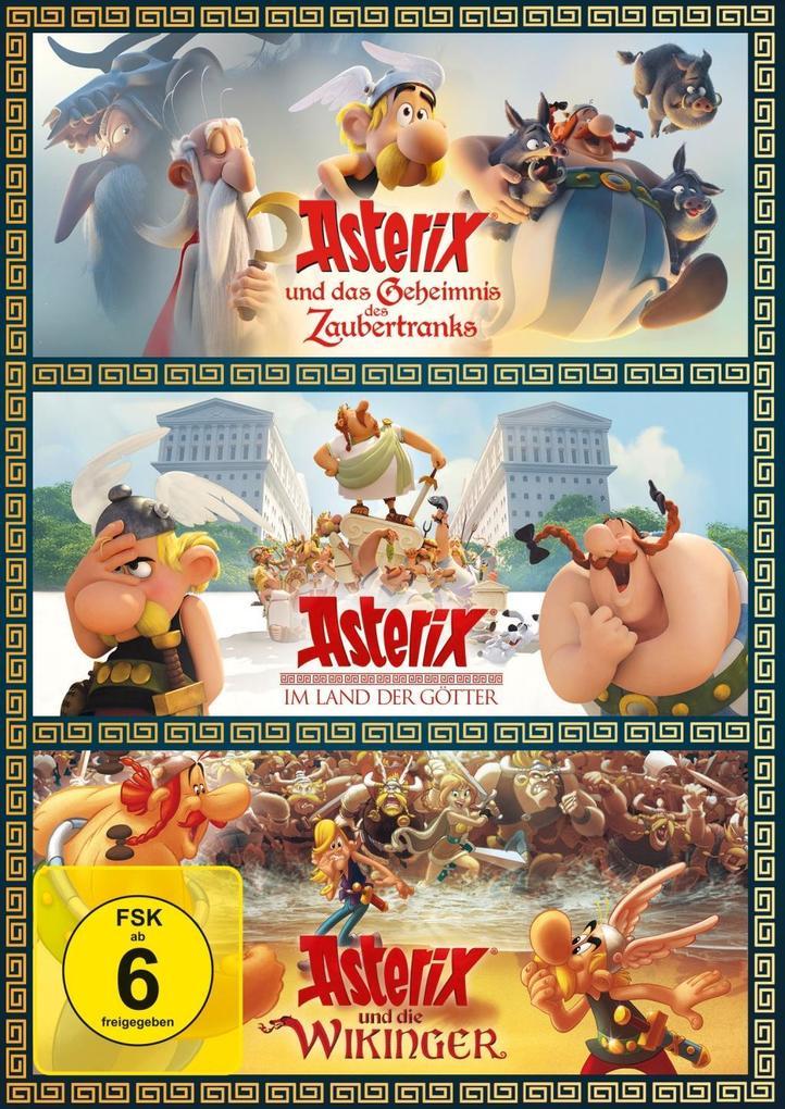 ASTERIX 3er-DVD-Box als DVD