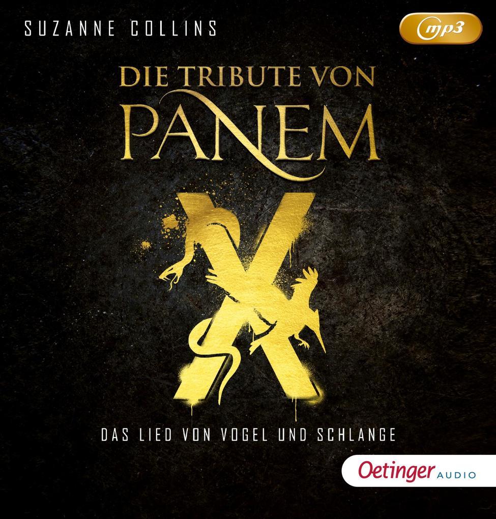 Die Tribute von Panem X. Das Lied von Vogel und Schlange (2mp3 CD) als Hörbuch CD