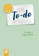 """Meine To-do-Haftnotizen """"live - love - teach"""""""