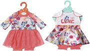 Zapf Creation - Baby born Trend Babykleid, 43cm 2 sort.