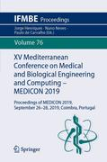 XV Mediterranean Conference on Medical and Biological Engineering and Computing - MEDICON 2019