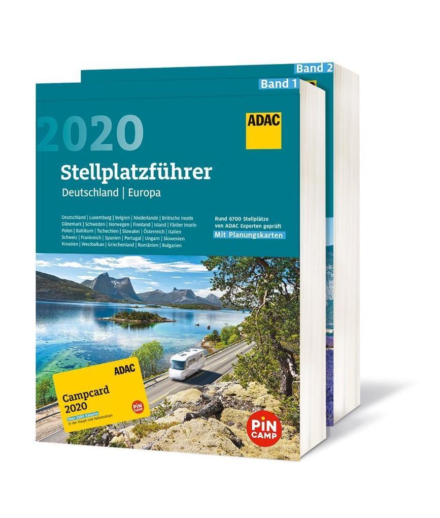 ADAC Stellplatzführer 2020 mit ADAC Campcard 2020 als Buch (kartoniert)