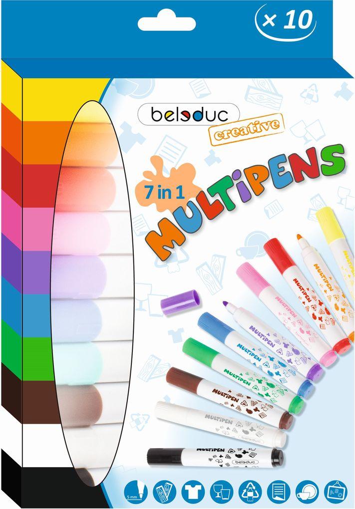 Beleduc - Multipens, 10er Set als Spielware