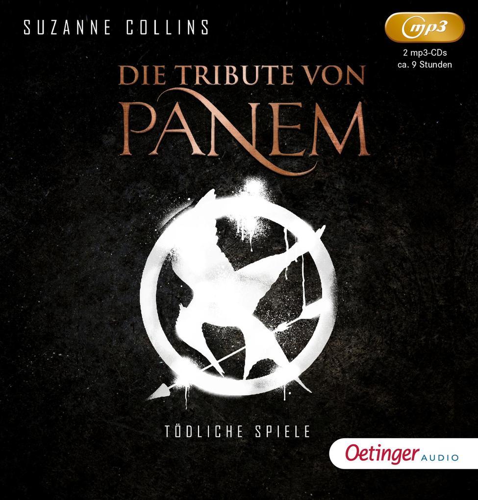 Die Tribute von Panem 1. Tödliche Spiele (2 mp3 CD) als Hörbuch CD