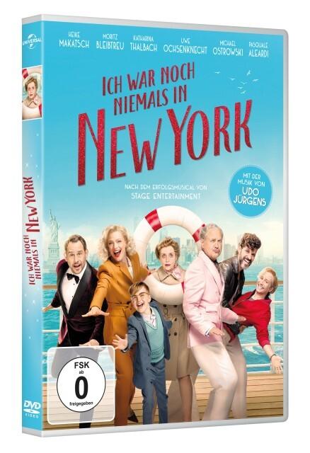 Ich war noch niemals in New York als DVD
