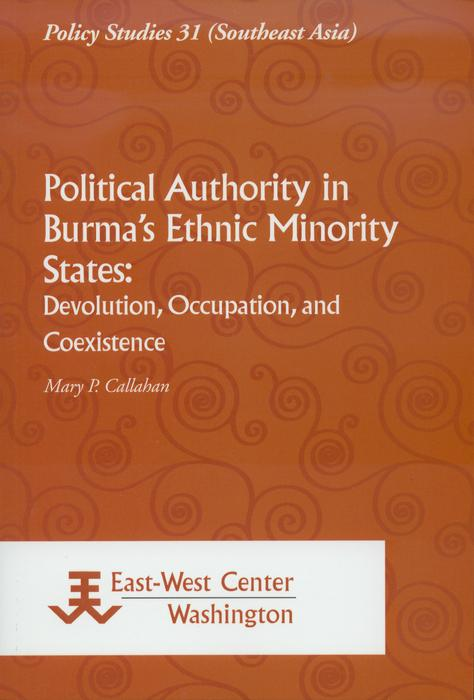 Political Authority in Burma's Ethnic Minority States als eBook pdf