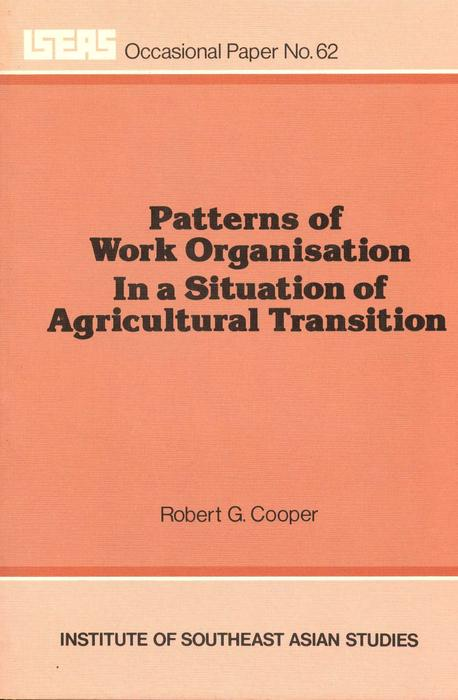 Patterns of Work Organisation in a Situation of Agricultural Transition als eBook pdf