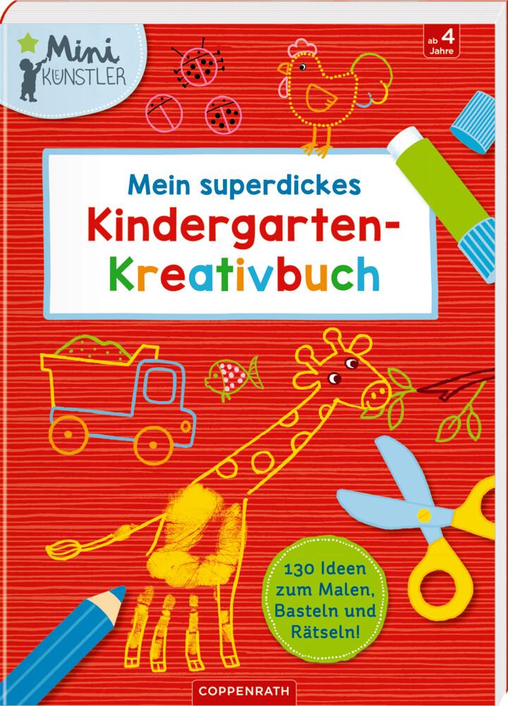 Mein superdickes Kindergarten-Kreativbuch als Buch (kartoniert)