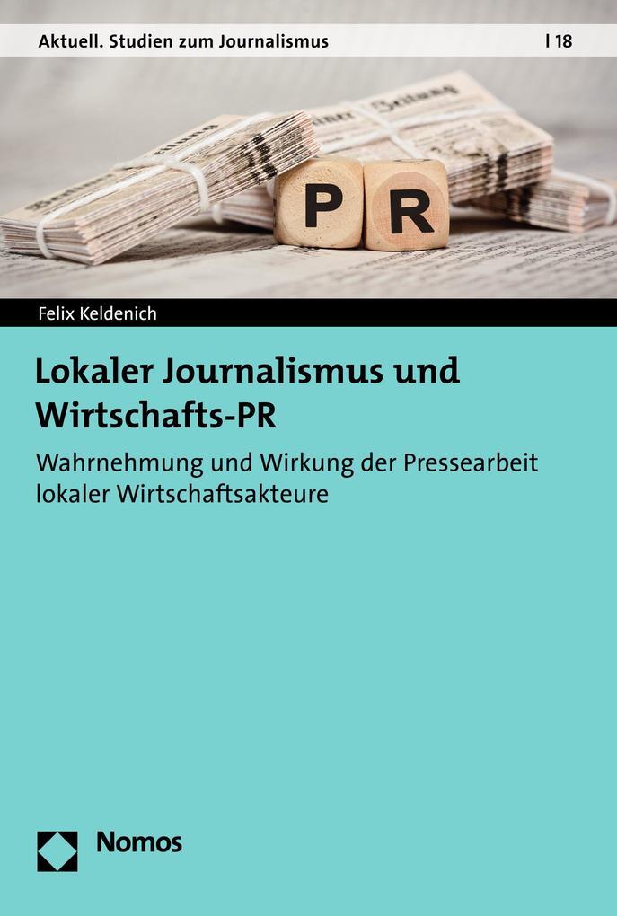 Lokaler Journalismus und Wirtschafts-PR als eBook pdf