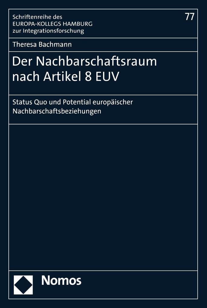 Der Nachbarschaftsraum nach Artikel 8 EUV als eBook pdf