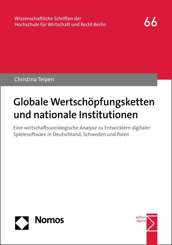 Globale Wertschöpfungsketten und nationale Institutionen als eBook pdf