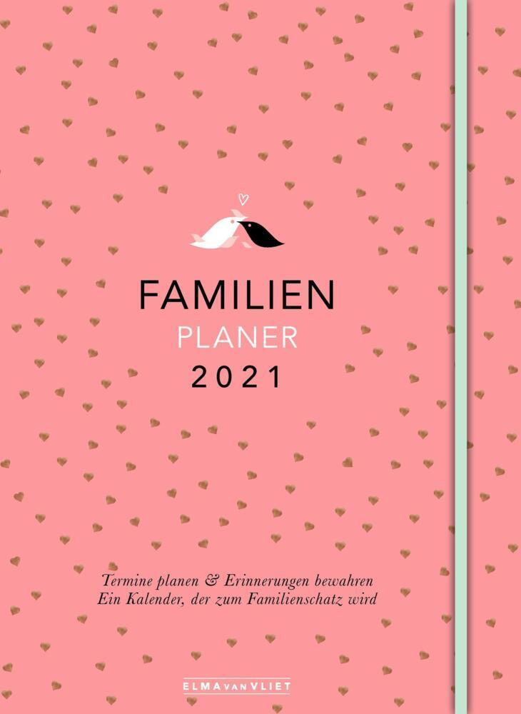 Elma van Vliet Familienplaner 2021 als Kalender