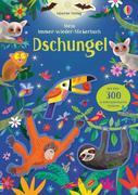 Mein Immer-wieder-Stickerbuch: Dschungel
