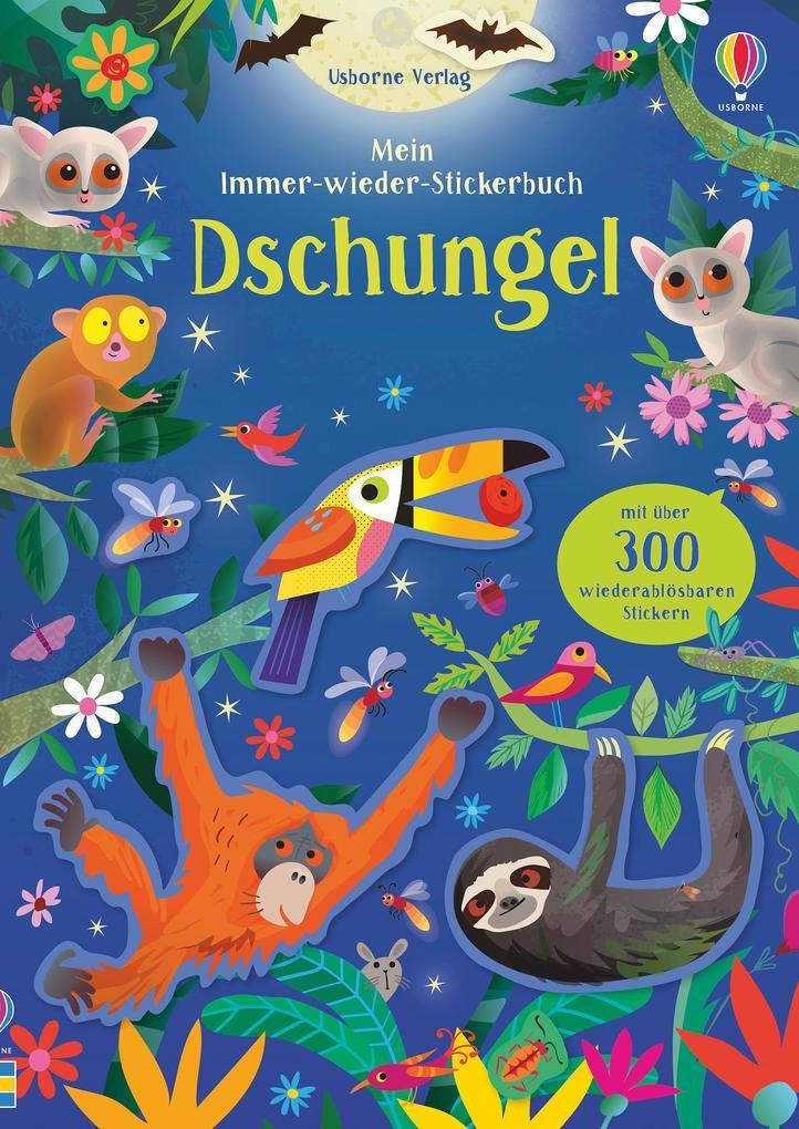 Mein Immer-wieder-Stickerbuch: Dschungel als Taschenbuch