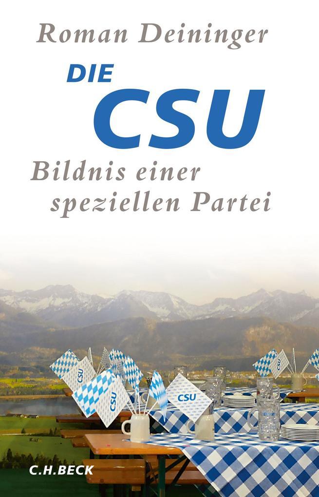 Die CSU als Buch (gebunden)